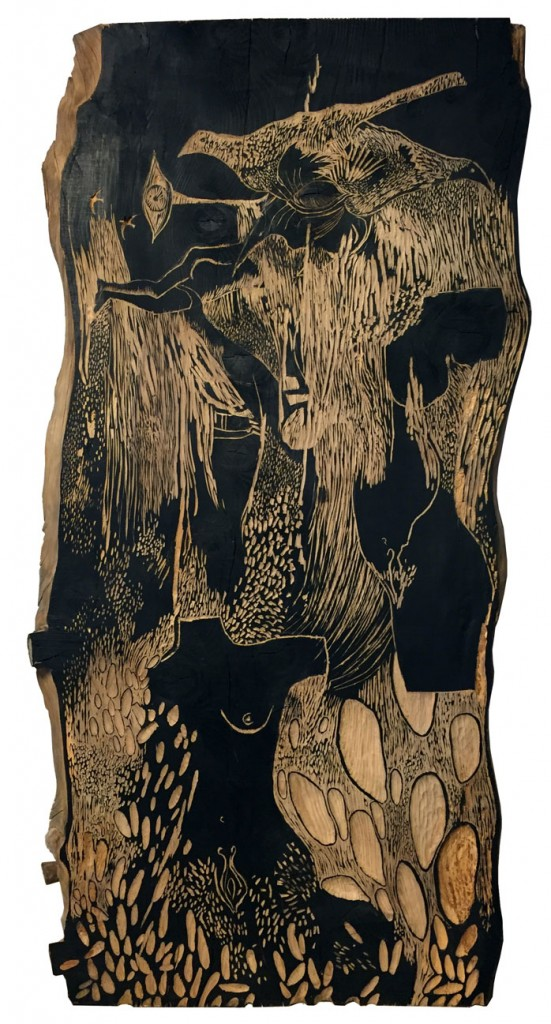 female-bodies,-woodcarving-on-wood,-acrylic,-4.500€-